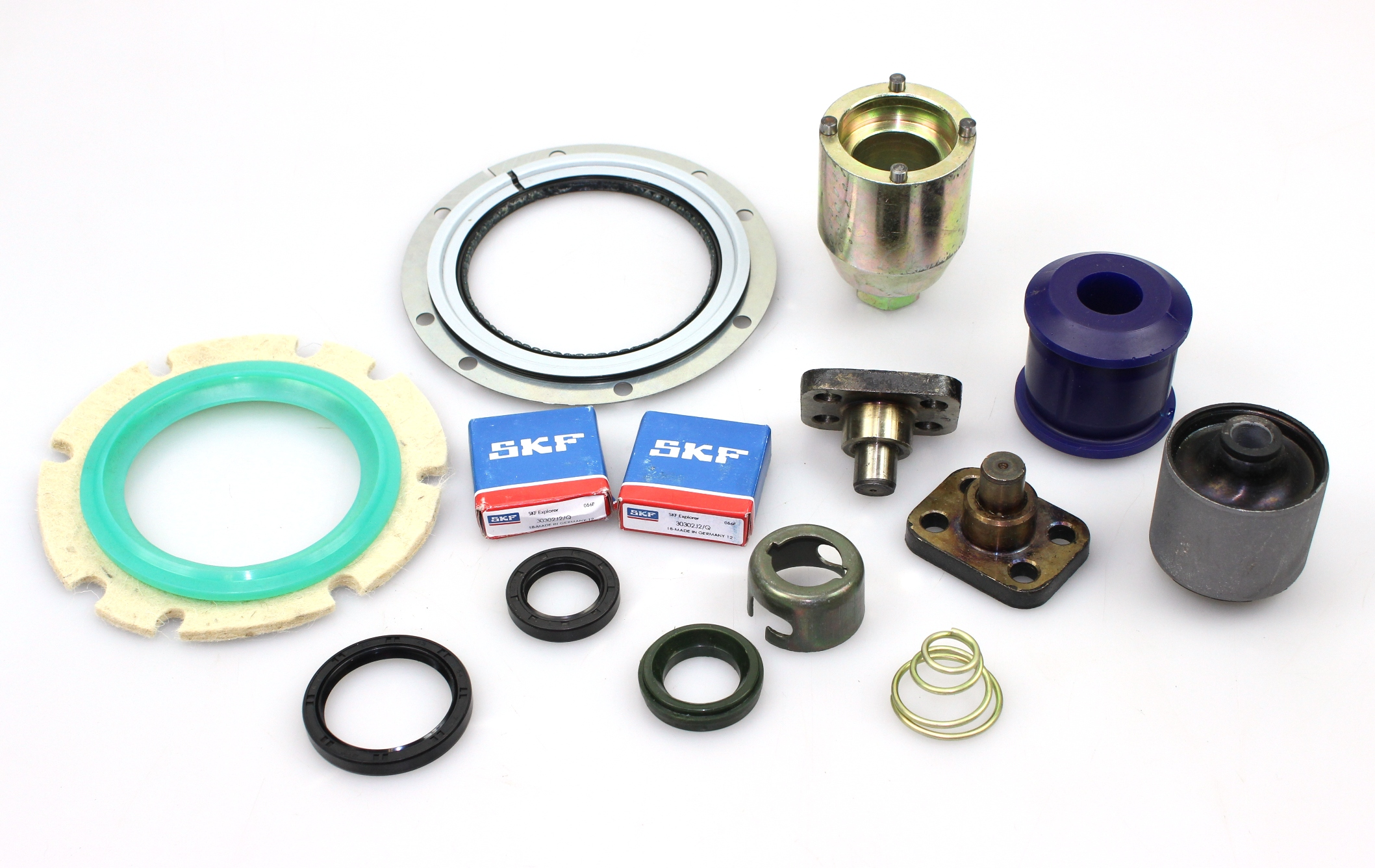 Service Items, Bushes and Parts